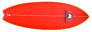 FOUR FIN FISH TAIL KNEEBOARD